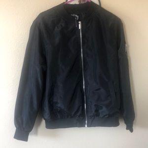 Jackets & Blazers - 2/$8- Thin bomber style jacket